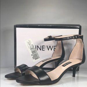 [187] Nine West 8 M Leisa Two-Piece Kitten Heel